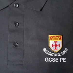 Black GCSE PE Polo Shirt