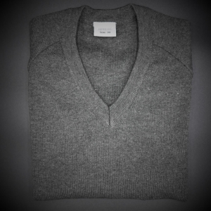 Beech Hall Boys Grey V Neck Pullover