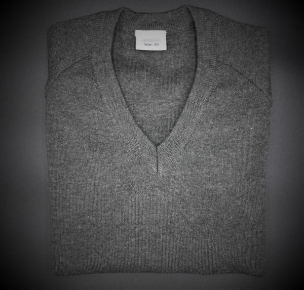 Beech Hall Boys Grey V Neck Pullover