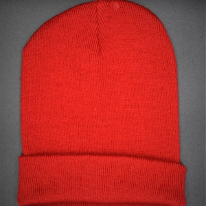 Beech Hall Red Knitted Hat