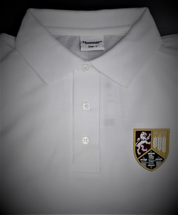 Fallibroome White Polo Shirt