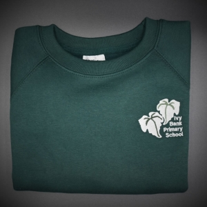 Ivy Bank Embroidered Sweatshirt