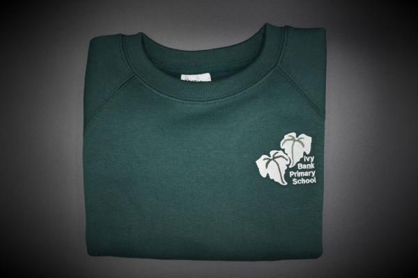 Ivy Bank Embroidered Sweatshirt