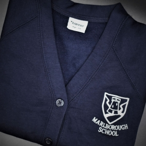 Marlborough Girls Embroidered Cardigan