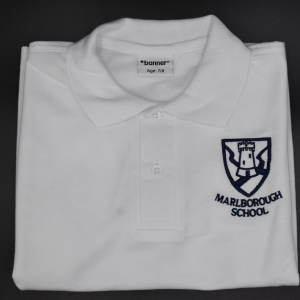 Marlborough Unisex Embroidered Polo Shirt