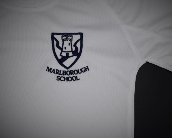 Marlborough School Embroidered PE T-Shirt