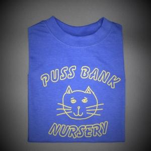 Puss Bank Nursery T-Shirt