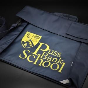 Puss Bank School Book Bag