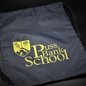 Puss Bank School PE Bag