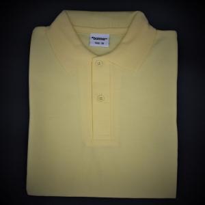 Puss Bank Unisex Yellow Polo Shirt