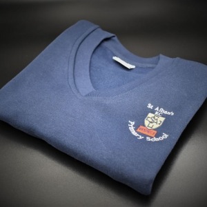 St Albans Embroidered Sweatshirt