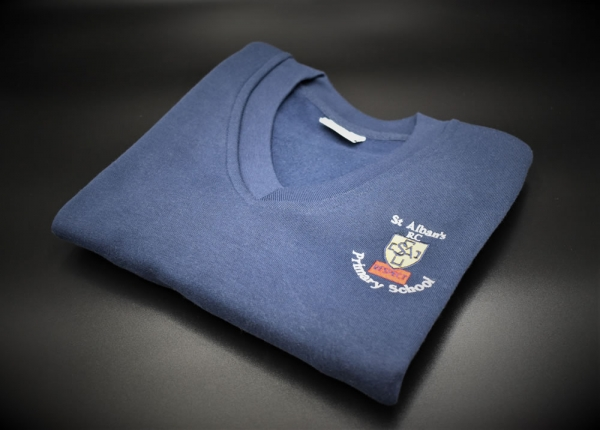 St Albans Embroidered Sweatshirt