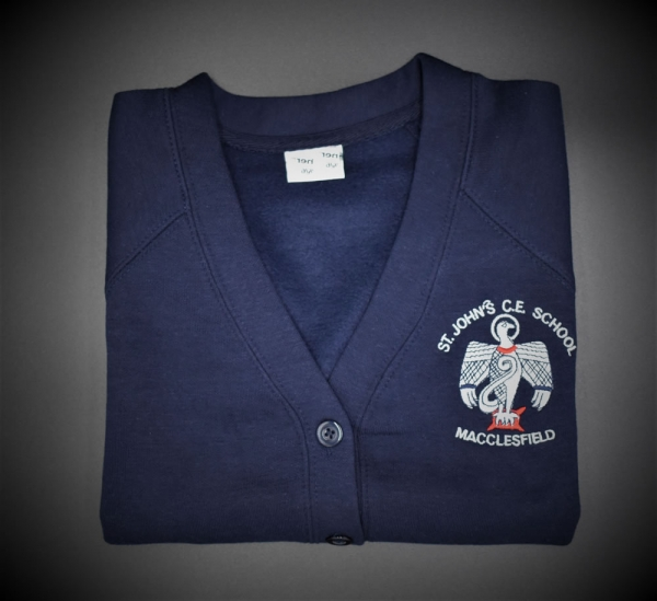 St John Girls Embroidered Cardigan