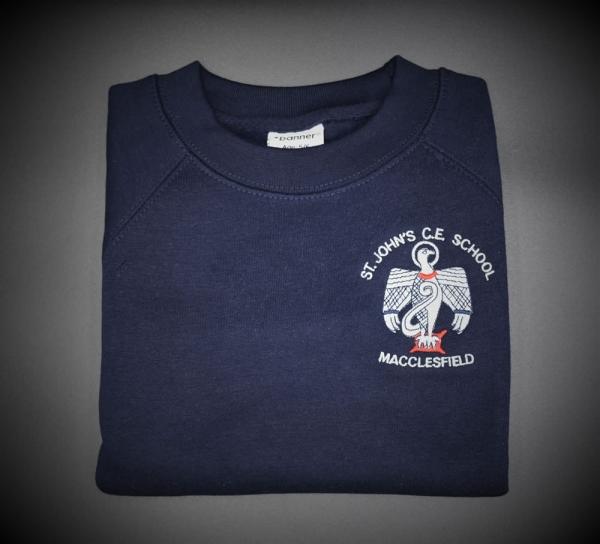 St John Embroidered Sweatshirt
