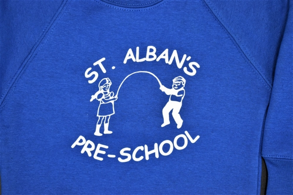 St Albans Pre-School Sweatshirt
