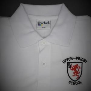 Upton Priory White Polo Shirt