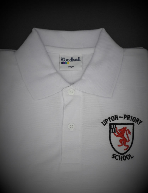 Upton Priory White Polo Shirt