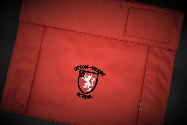 Upton Priory School Bag With Strap