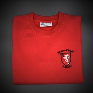 Upton Priory Embroidered Sweatshirt