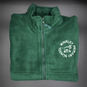 Whirley Primary Zip Fleece