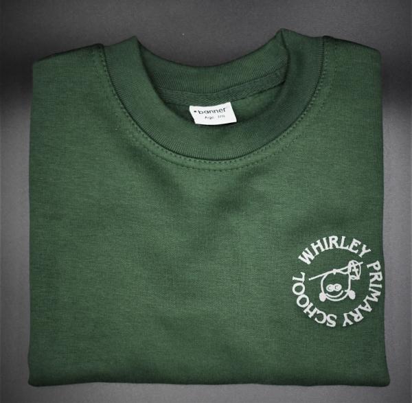 Whirley Embroidered Sweatshirt