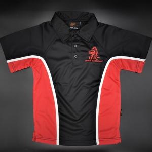 Beech Hall Boys Red/Black PE Polo Shirt