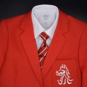 Beech Hall Red Blazer