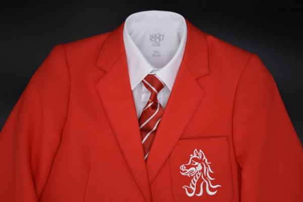 Beech Hall Red Blazer