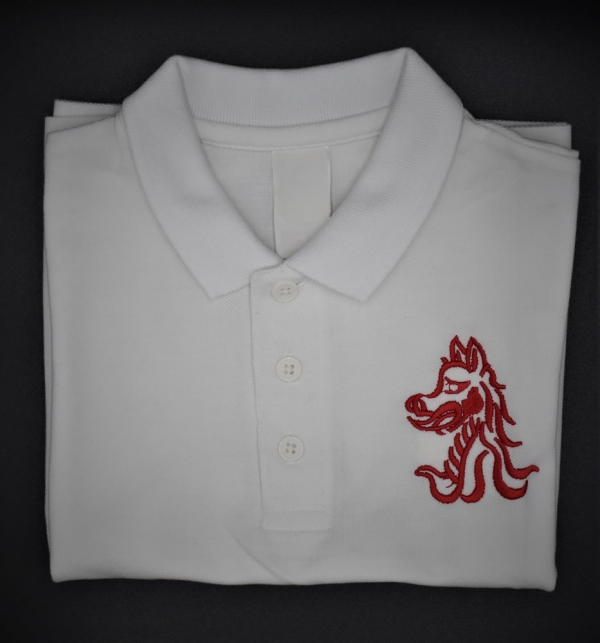 Beech Hall Reception & infants White PE Polo Shirt