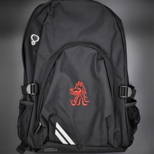 Beech Hall Black Junior School Bag