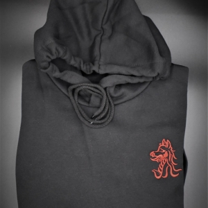 Beech Hall Black Hoodie: all years